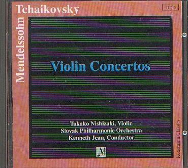 Mendelssohn - Tschaikowsky: Violinkonzerte