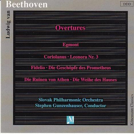 Beethoven, Ludwig van (1770-1827): Beethoven-Ouvertüren