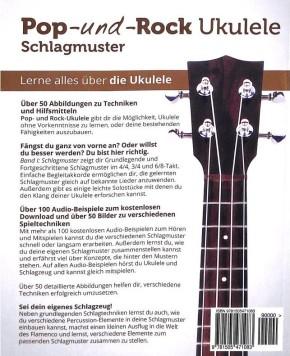 Pfeiffer Elisabeth: Pop + Rock Ukulele - Schlagmuster