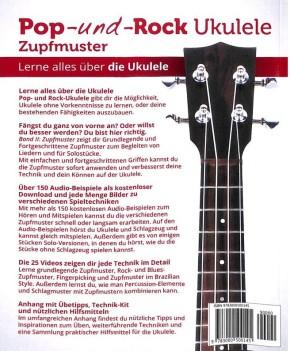 Pfeiffer Elisabeth: Pop + Rock Ukulele - Zupfmuster